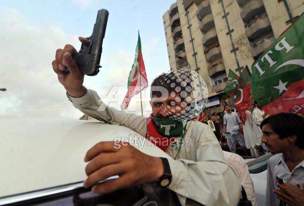 Terrorist Of Imran Khan Exposed in Karachi