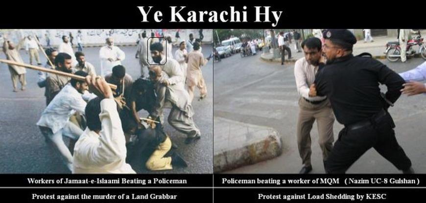 Jamati Terrorists torturing Policemen in Karachi