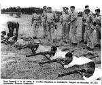Jamat e Islami razakars in East Pakistan getting military training